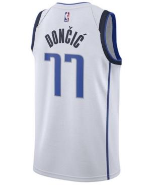 Nike Men's Luka Doncic Dallas Mavericks Association Swingman Jersey