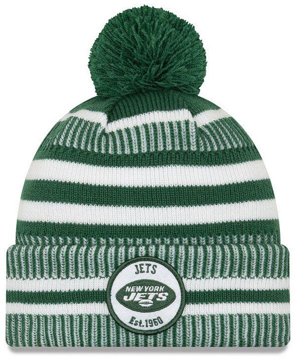 New Era New York Jets Home Sport Knit Hat