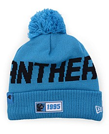Carolina Panthers Road Sport Knit Hat