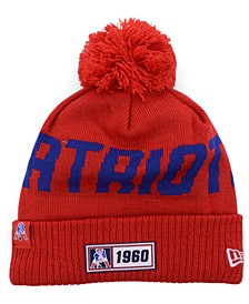 New England Patriots Road Sport Knit Hat