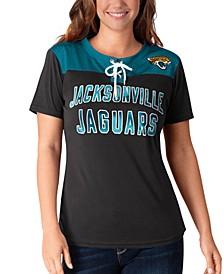 Women's Jacksonville Jaguars Wildcard Jersey T-Shirt