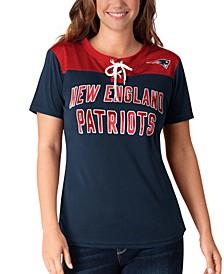 Women's New England Patriots Wildcard Jersey T-Shirt