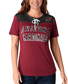 Women's Arizona Cardinals Wildcard Jersey T-Shirt