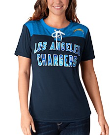 Women's Los Angeles Chargers Wildcard Jersey T-Shirt
