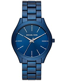 Women's Slim Runway Aluminum Bracelet Watch 42mm, Created for Macy's