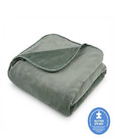 "The Vellux Heavy Weight 12lb 54"" x 72"" Weighted Blanket"