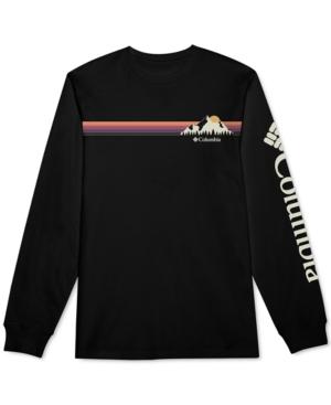 Columbia T-shirts MEN'S KLAY GRAPHIC LONG SLEEVE T-SHIRT