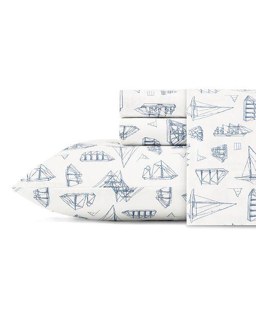 Nautica Whitewood Sail Full Sheet Set