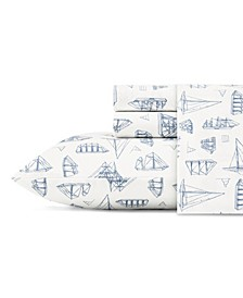 Whitewood Sail King Sheet Set