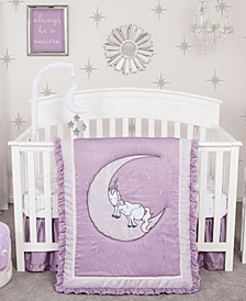 Unicorn Dreams 3-Piece Crib Bedding Set