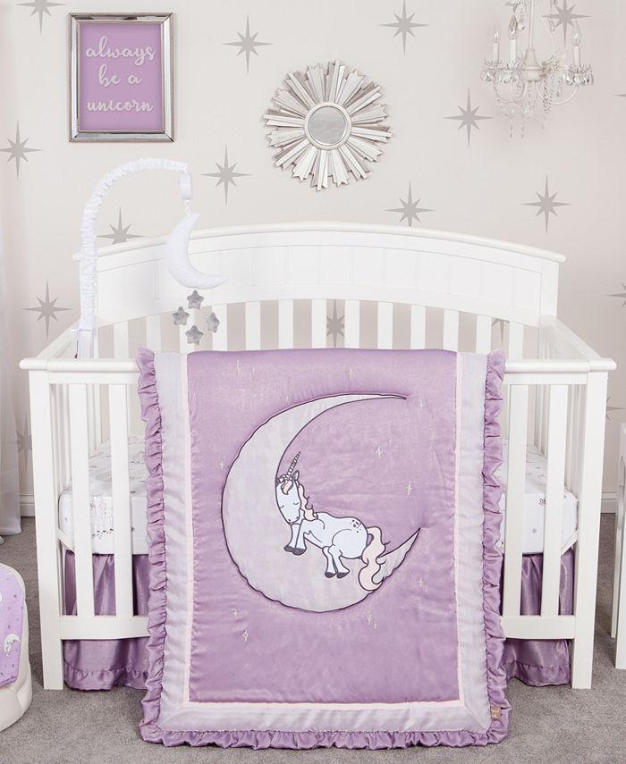 Trend Lab - Unicorn Dreams 3 Piece Crib Bedding Set