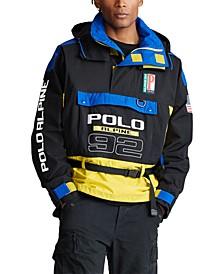 폴로 랄프로렌 Polo Ralph Lauren Mens Alpine Colorblocked Graphic Jacket,Polo Black Multi