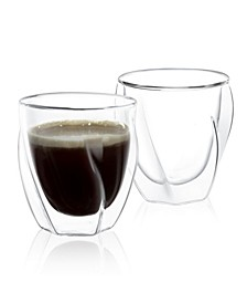 Lacey Double Wall Insulated Glasses Set of 2