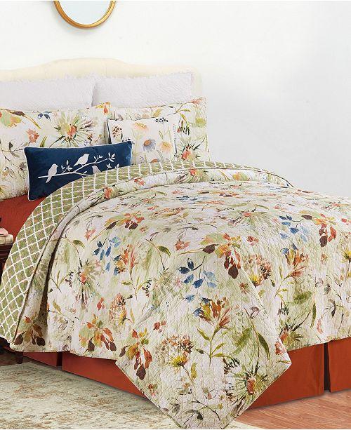 C & F Enterprises Inc C F Home Watercolor Quilt Set Collection