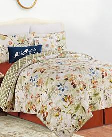 C&F Home Watercolor Floral Quilt Set