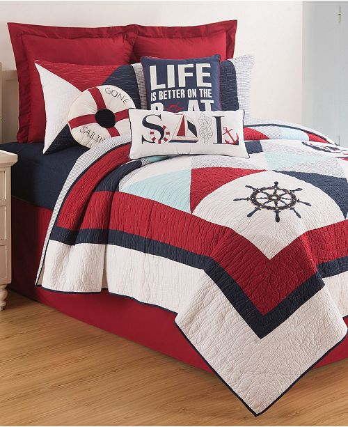 C&F Home Waterborne King Quilt Set