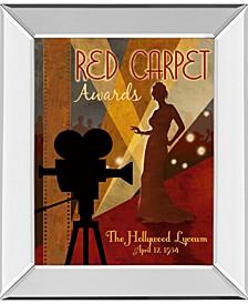 "Red Carpet Awards by Conrad Knutsen Mirror Framed Print Wall Art, 22"" x 26"""