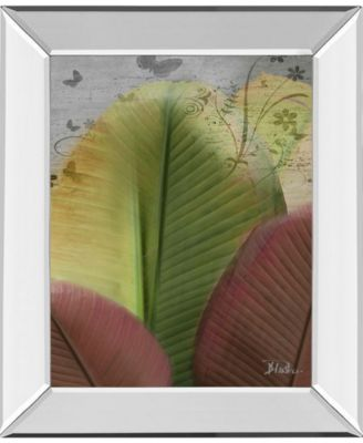 """Butterfly Palm I by Patricia Pinto Mirror Framed Print Wall Art, 22"""" x 26"""""""
