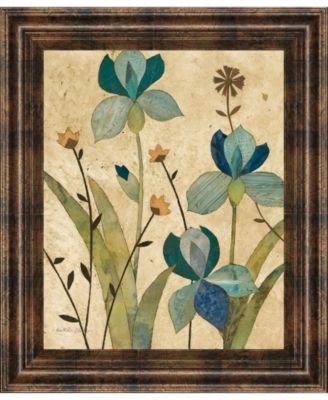 "Garden's Edge II by Charlene Olson Framed Print Wall Art, 22"" x 26"""