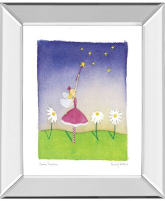 "Felicity Wishes I by Emma Thomson Mirror Framed Print Wall Art, 22"" x 26"""