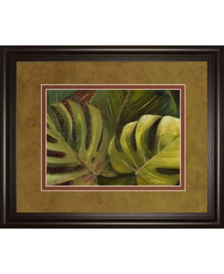 """Green For Ever I by Patricia Pinto Framed Print Wall Art, 34"""" x 40"""""""