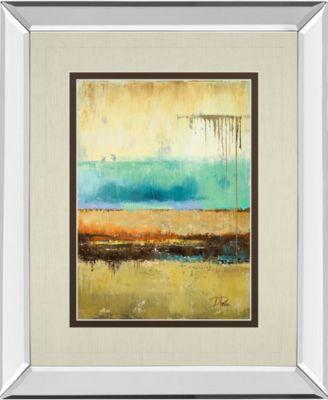 "Rain I by Patrica Pinto Mirror Framed Print Wall Art, 34"" x 40"""