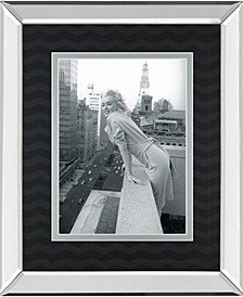 "Top of The World by Chelsea Collection Mirror Framed Print Wall Art, 34"" x 40"""