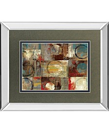"""All Around Play by Tom Reeves Mirror Framed Print Wall Art, 34"""" x 40"""""""