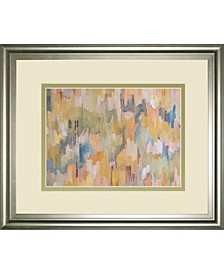 "Concerto Gray by Robert Cresvell Framed Print Wall Art, 34"" x 40"""
