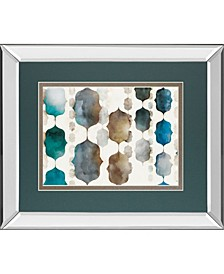 """Moroccan Beads by Edward Selkirk Mirror Framed Print Wall Art, 34"""" x 40"""""""