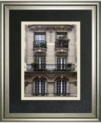 "Balcon Parisien II by Tony Koukos Framed Print Wall Art, 34"" x 40"""