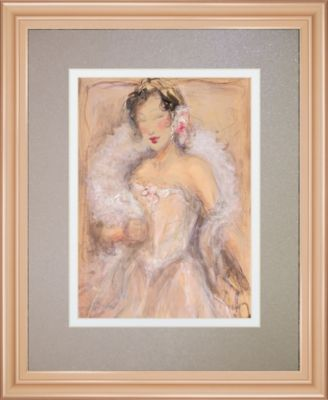 "Stole My Heart I by Dupre Framed Print Wall Art, 34"" x 40"""