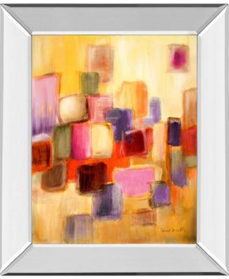 """Sonata I by Lanie Loreth Mirror Framed Print Wall Art, 22"""" x 26"""""""