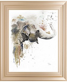 "Water Elephant by Patricia Pinto Framed Print Wall Art, 22"" x 26"""
