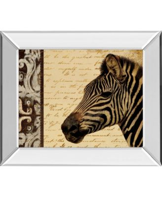 "Madagascar Safari II by Patricia Pinto Mirror Framed Print Wall Art, 22"" x 26"""