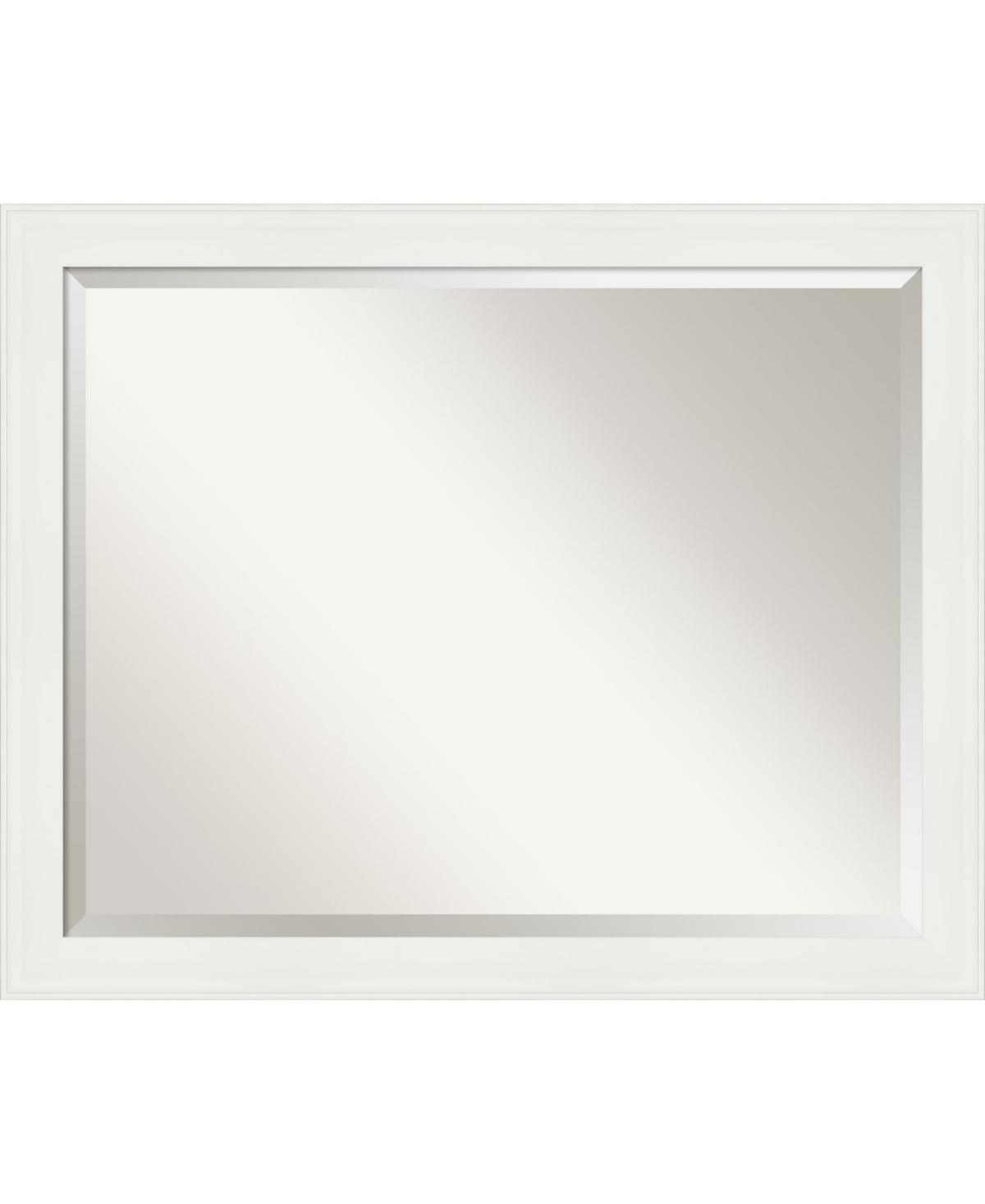 Amanti Art Vanity Framed Bathroom Vanity Wall Mirror, 31.38