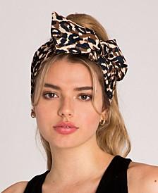 Leopard Print Versatile Wire Headwrap