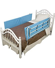Vinyl Bed Rail Cushions Bed Bumpers Pads with Non-Allergenic Cover