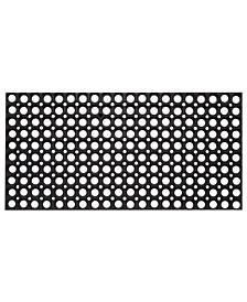 """Anti-Fatigue Rubber Hollow Floor Mat, 39"""" x 59"""""""