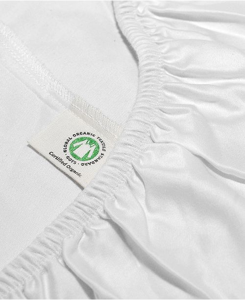 Whisper Organics 100% Organic Cotton Fitted Bed Sheet Collection