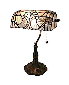 Tiffany Style Floral Banker Tiffany Style Table Lamp