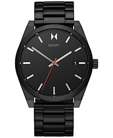 Men's Element Ash Black-Tone Stainless Steel Bracelet Watch 43mm