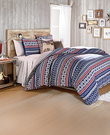 G.H. Bass Fair Isle Bedding Collection