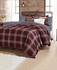 G.H. Bass Canyon Plaid Bedding Collection