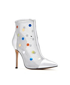 Katy Perry The Jeffree Embellished Mesh Booties