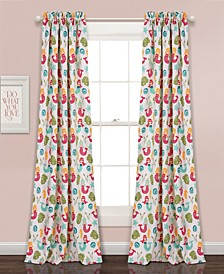 "Mermaid Waves 52"" x 84"" Curtain Set"