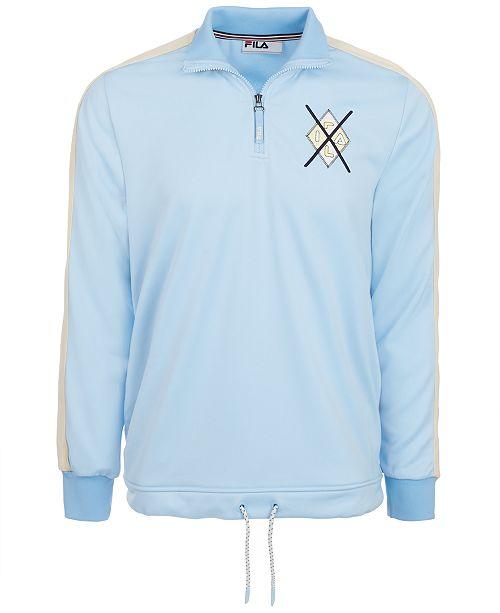 Fila Men's Quarter-Zip Sweatshirt