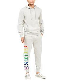 Men's Arthur Ombré Rainbow Logo Hoodie & Joggers