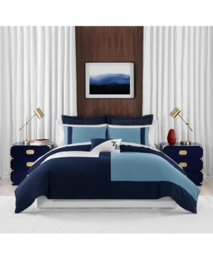 Th Conscious Colorblock Twin Comforter Set Bedding