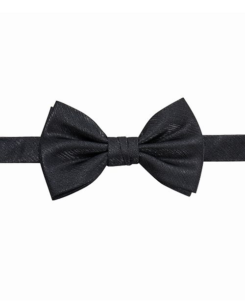 Ryan Seacrest Distinction Men's Floyd Pre-Tied Solid Bow Tie, Created For Macy's